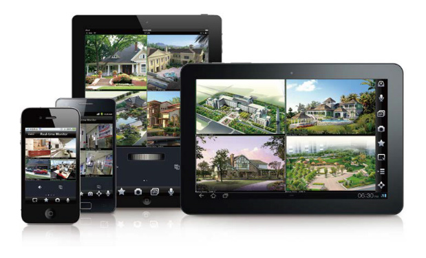 Podgląd z kamer telewizji przemysłowej na urządzeniach mobilnych